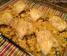 Stuffed+Chicken+with+Gravy