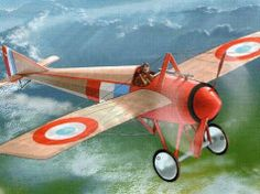 WWI Morane-Saulnier Type N Monoplane Fighter and YC18-2 BFD