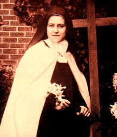 Ste. Therese de Lisieux-- The Brown Scapular of Our Lady of Mount Carmel