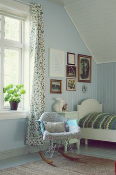 the boo and the boy: Vintage kids' rooms