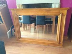 Beautiful Solid Pine Mirror for sale Cleckheaton Picture 1