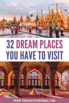 32 Dream Destinations to Add to Your Bucket List