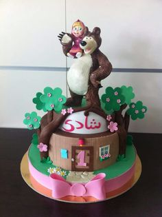 Masha and the bear cake masha e orso torta