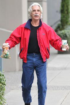 Exclusive: Sam Elliott Getting Starbucks In ...