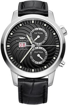 Glycine Watch Airman 7 Black