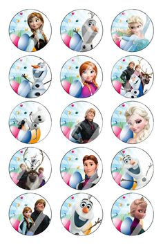 Disney Concepts & Stuff ratatouille : Disney Concepts & Stuff'Gusteau's Anyone C… Frozen Themed Birthday Party, Frozen Party, Bottle Cap Crafts, Diy Bottle, Bottle Cap Necklace, Bottle Caps, Beer Bottle, Imprimibles Baby Shower, Frozen Banner
