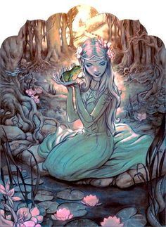 FABLES cover by James Jean