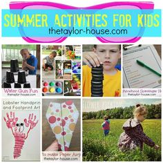 summer crafts for kids Archives - The Taylor House