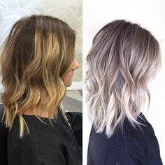 You are in the right place about ash blonde balayage wig Here we offer you the most beautiful pictur Blonde Hair Looks, Ash Blonde Hair, Ash Blonde Balayage Short, Blonde Tips, Ombré Hair, Curls Hair, Hair Shades, Pinterest Hair, Hair Color Balayage