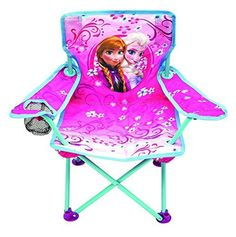 Disney Frozen Anna  Elsa Fold N Go Chair  Toddler ** Want to know more, click on the image.