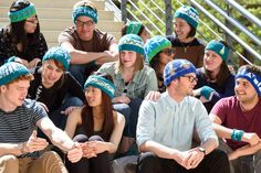 Stanford microbiologist creates 'resistor' hats for the March for Science Knitting For Charity, March For Science, Bedtime Stories, Current Events, April 22, Create, Hats, Crafting, Image