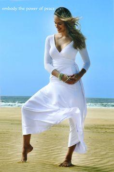 Shakti Shanti Yoga Wear beach shots