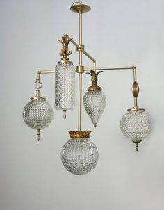 Brilliant Chandelier – 5 Arm With Vintage Jewelry – Fixtures 2020 Luminaire Vintage, Luminaire Design, Vintage Chandelier, Vintage Lighting, Chandelier Lighting, Custom Lighting, Lighting Design, Vintage Light Fixtures, Diy Molding