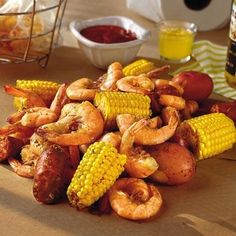 Frogmore stew, otherwise known as a Low Country boil, is a simple and easy one-pot seafood dinner. Serve with cocktail sauce and plenty of napkins!