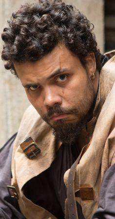 Howard Charles in The Musketeers (Porthos)