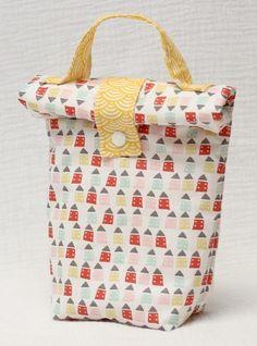 sac à goûter en tissu pour l'école