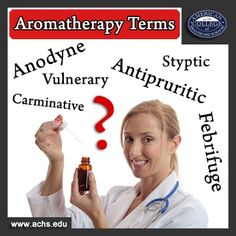 20 Aromatherapy Terms You Need to Know - http://info.achs.edu/blog/bid/339074/20-Aromatherapy-Terms-You-Need-to-Know
