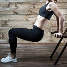 Trizeps Dips sind die ideale Übung für straffe Arme.