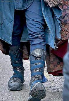 """Doctor Strange"" boots."