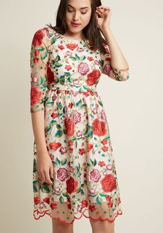 Embroidered Garden M