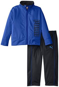 PUMA Boys Tricot Jacket and Pant SetRoyal12 Months *** You can get additional details at the image link.