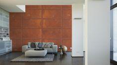 Architects Paper Fototapete Old Iron 470112; simuliert auf der Wand
