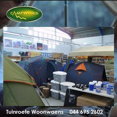 At Tuinroete Woonwaens, we stock a range of coolers and other storage products that will make packing simpler when camping. Visit us in store and come have a look at the wide collection of products that we have. #lifestyle #camping #outdoorliving