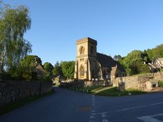 Snowshill village church - the cotswolds UK - 2013