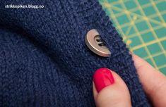 Hvordan strikke knapphull? (Strikkepiken) Tutorials, Knitting, Tips, Tricot, Advice, Breien, Weaving, Stricken, Knits
