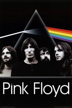 Dark Side of The Moon Prism 36x24 Music Album Art Print Poster Classic Pink Floyd