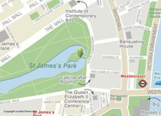 Map of Buckingham Palace and Garden 1897 archaeology