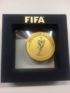 FIFA WORLD CUP 2018 RUSSIA OFFICIAL MEDAL IN BOX FOOTBALL SOCCER ORIGINAL RARITY | eBay
