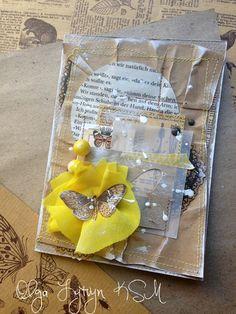 Кафе Скрапо-Мама: Цветочное задание августа - цветок желтого цета