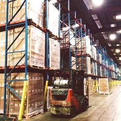 Temperature controlled #warehouses preserve the integrity and quality of goods. #FWresults #supplychain #logistics #3PL