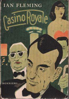 översättning av carl sundell engelsk originaltitel casino royale printed in sweden stockholm in sweden stockholm albert bonniers boktryckeri 1955 omslag adolf hallman