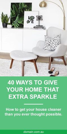 When it comes to sprucing up a whole home, even the cleanest of clean freaks can miss the little things. On a surface level everything may look clean, but there's plenty more that can be done. Use the tips below to give your home that extra sparkle. Home Organisation, Organization, Up House, Reno, Beautiful Interiors, Interior Design Living Room, Kitchen Interior, Clean House, Decoration