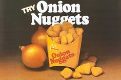 McDonald's Onion Nuggets from the 1970s