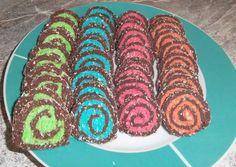 Színes kókusztekercs   Mariann Törteli receptje - Cookpad receptek Sushi, Ethnic Recipes, Food, Essen, Meals, Yemek, Eten, Sushi Rolls