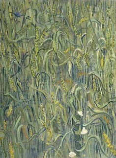 Vincent Van Gogh「Ears of Wheat」(1890)