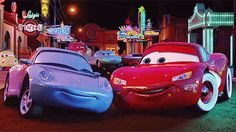 "Best part of ""Cars"" - when Lightning and Sally show their love for each other!!!"