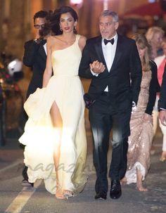 George Clooney y Amal Alamuddin deslumbran en Cannes