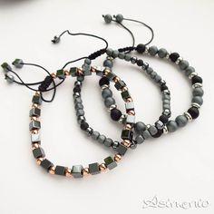 New men's bracelets!  ✔Δωρεάν Μεταφορικά σε όλη την Ελλάδα! θα τα βρεις στο asimenio.gr Τηλ 2310 531 382 . . . #asimenio #asimenio_gr #jewellery #jewelry #kosmimata #κοσμήματα #κοσμημα #βραχιόλια #ανδρικά #ανδρικό #new  #thessaloniki #greece #fashion Beaded Necklace, Jewelry, Fashion, Beaded Collar, Moda, Jewlery, Pearl Necklace, Jewerly, Fashion Styles