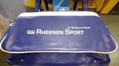 Sporttas bedrukt met 1 kleur zeefdruk