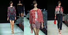 Giorgio Armani punta sul rosso per la sua donna sexy