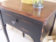"""Sewing Table Transformation by """"Cottage Charm Creations"""""""