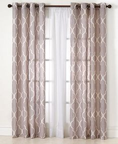 "Elrene Medalia 52"" x 95"" Panel - Curtains & Drapes - for the home - Macy's"