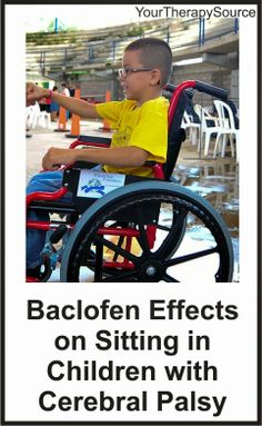 Baclofen Effects on Sitting in Children with Cerebral Palsy - pinned by @PediaStaff – Please Visit  ht.ly/63sNt for all our pediatric therapy pins