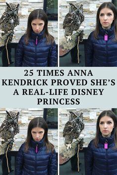 25 Times Anna Kendrick Proved She's A Real-Life Disney Princess