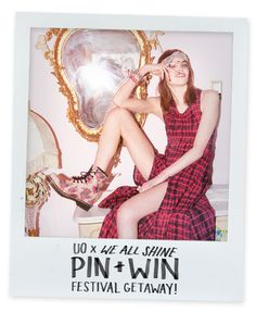 Enter me in the #UrbanOutfitters x We All Shine Pin + Win Festival Getaway Sweepstakes! #uoxweallshine