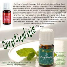 Essential Oils for Diverticulitis. Member #3092160